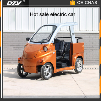 Adult Solar Electric Car Long Range Mini Electric Car for Sale Automobile