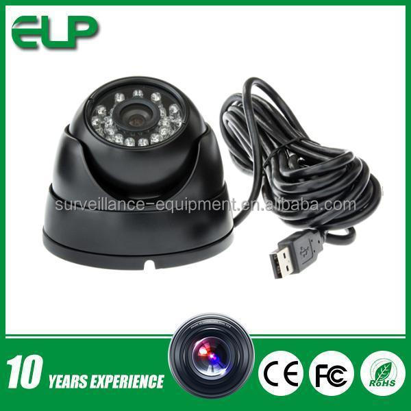 1mp h.264 aluminum metal ir dome usb 2.0 digital video camera for outdoor