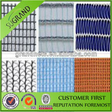 0.3mm black yarn Leno/Gauze weave Anti Hail Net with shade factor 20% and UV Protection