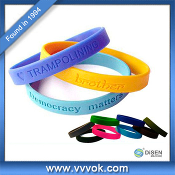 Hot selling promotional gifts silicone wristband china