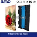 Absen Factory price HD 500mm x 1000mm die-casting Aluminum cabinet P3.91 indoor rental led display video wall