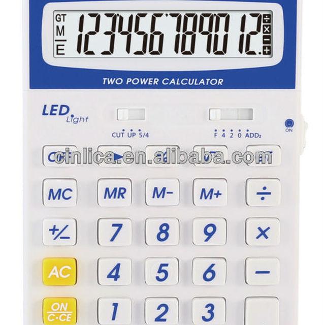 12 digits calculator with LED LED-200LA bsa calculator