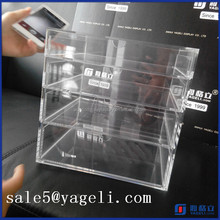 Yageli clear acrylic makeup storage box with handle