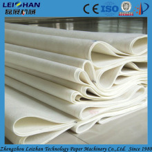 Paper machine clothing in pressing and drying part