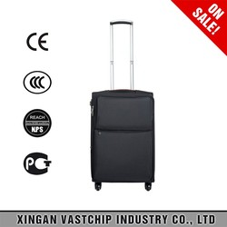 2016 new design arrival high-grade polyester trolley luggage expandable travel luggage bags
