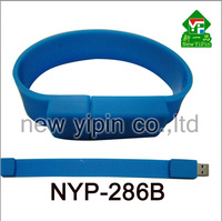 New Yipin Chinese Manufacturer USB Flash Drive Logo Custom Silicone Bracelets