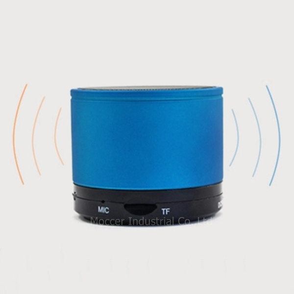 Portable mini rechargeable high power mini bluetooth speaker