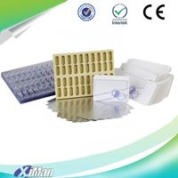Custom made wholesale blister capsule package, capsule blister pack