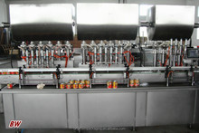 factory price automatic meat paste /tomato sauce tin can filling machine