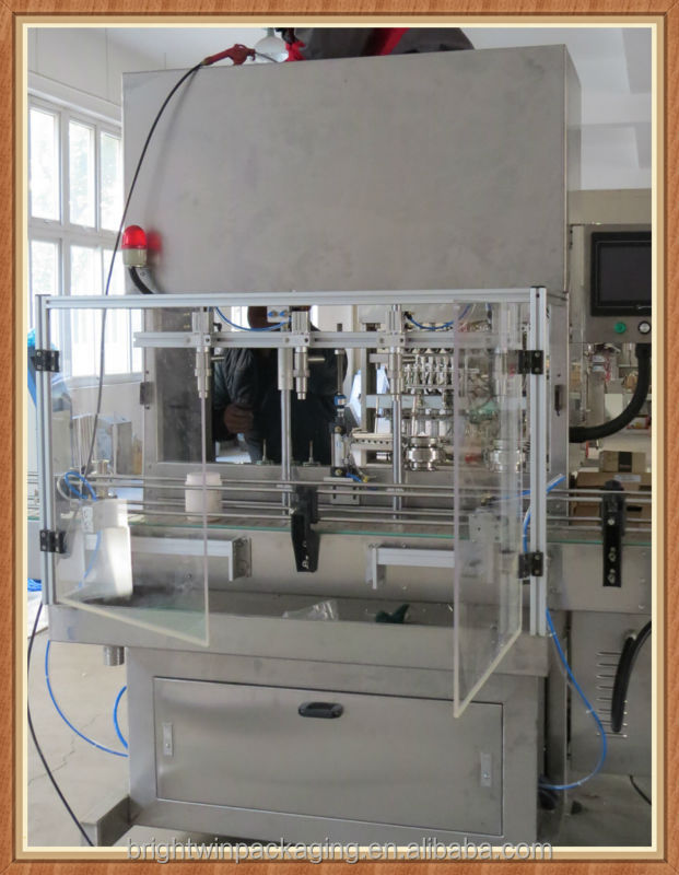factory price automatic dishwashing detergent liquid filling machine