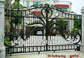 wrought iron gate for Building