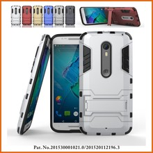 Factory slim armor mobile phone case for motorola moto x style