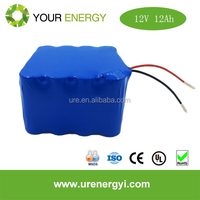 12v 12ah battery lifepo4 2000 times deep cycle rechargeable for solar tree lights