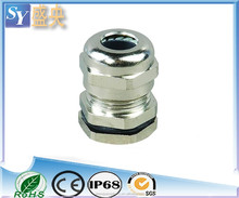 High quality brass compression cable gland for wiring accessories connecters