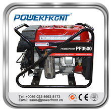 Air-cooled 15hp 6kw 12v dc output 6500 gasoline generator for sale