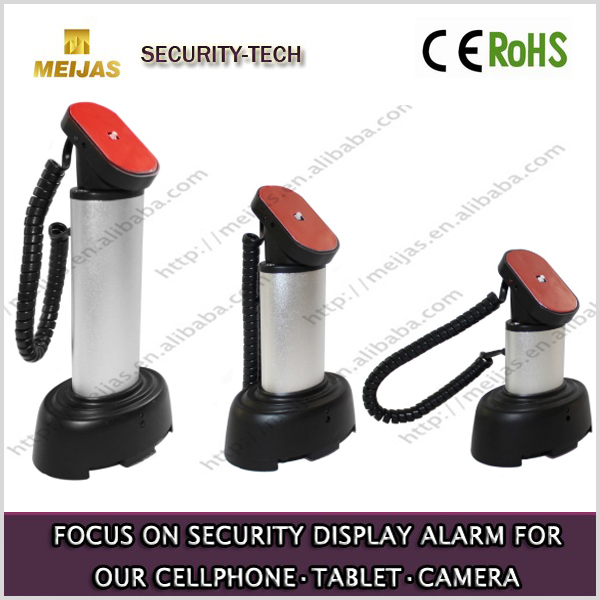 Charging Metallic paint Mobile Phone Exhibition Display Security Alarm