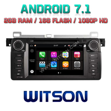 WITSON S190 ANDROID 7.1 AUTO RADIO DVD GPS FOR BMW E46 1998-2005