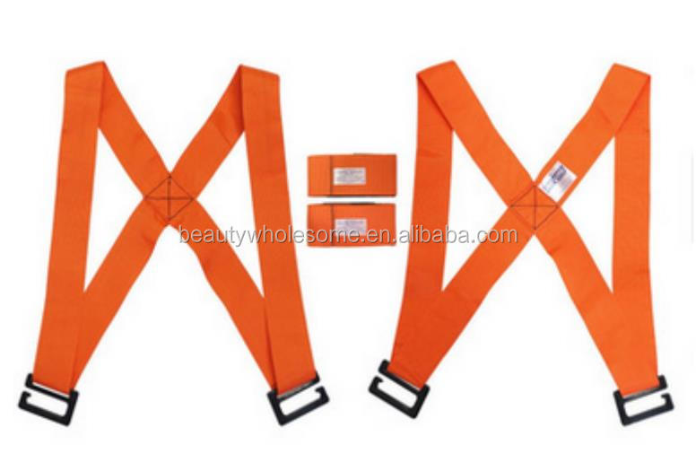 AD217 Factory hot sale polyester lifting belt and moving straps for elevator use
