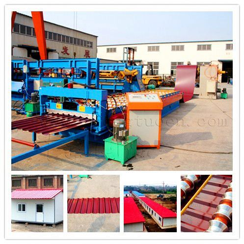 tile cutting machine color roof tile machine