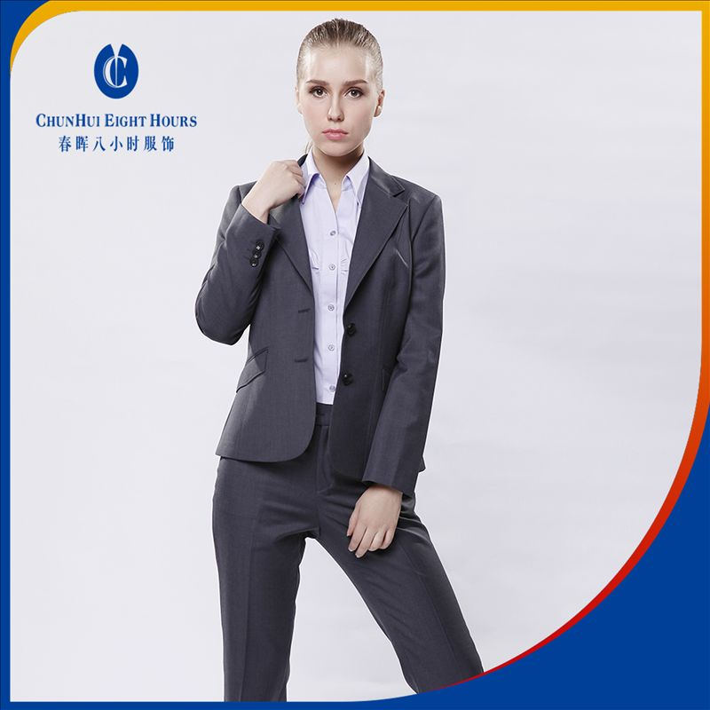 Standard business office lady working suit for young women