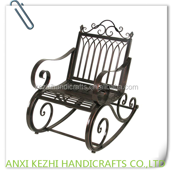 KZ150053 Metal Frame Patio Rocking Chair