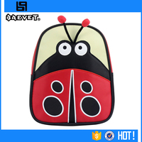 100% polyester factory customize cute 8 years child school bag