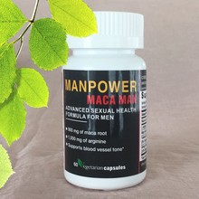 Organic maca tablets natural male enhancement pills (finished package and OEM)