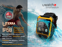 hot new products for 2016 dual sim watch phone waterproof