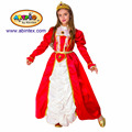 Red Princess costume (16-2624) as party costume for girl with ARTPRO brand