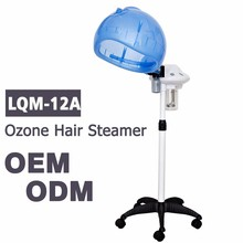 LQM-12A Salon Hair Steamer Color Treatment Processor Rolling Stand Conditioning