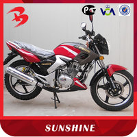 Hot Red Lucky Model High Quality 200CC Motorcycle For Sale