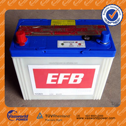 Best things to sell 12volt dry cell battery best sales 40AH car battery in alibaba