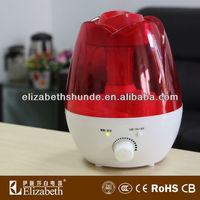 China made aroma home humidifier with led lights