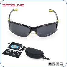 Factory Price CE Approved Flexible Sport Sunning Golf Sunglasses
