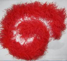 Wholesale Good Soft Cheap Artificial Ostrich Feather Boas 6 Ply Feather