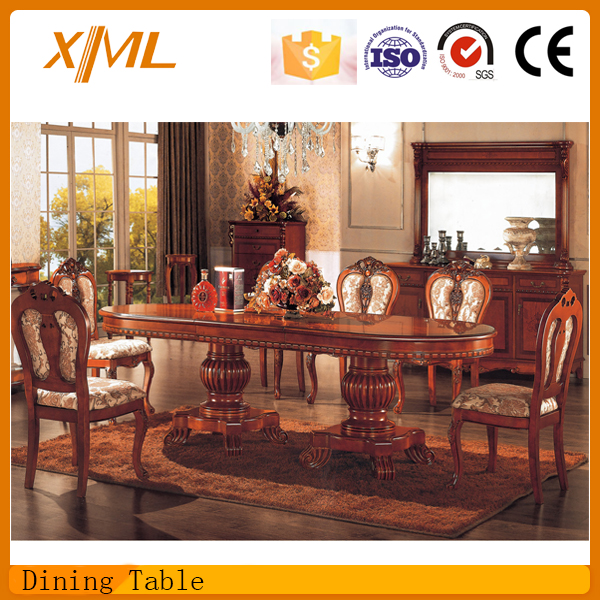 Antique Extension Philippine Dining Table Set