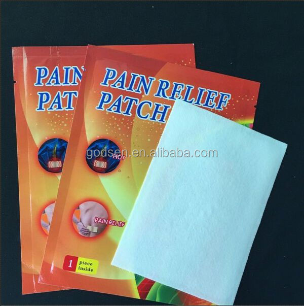 Chinese Customize herbal pain gel relief patch With CE Certificate, Skype:godsen22