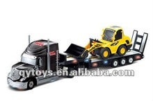 1:32 RC heavy trailer with 1:20 RC truck 2012 new childrens car toys China toy RC mini funny toys