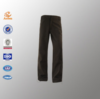 New fashion black men formal pants designs with high quality