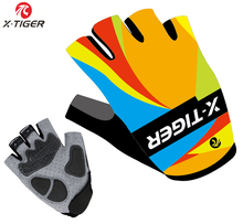 2016 X-Tiger Brand Pro GEL Pad Cycling Ciclismo Gloves/Mans Bike Sports Gloves/Breathable Racing MTB Bicycle Cycle Gloves