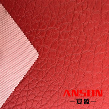 customized color pvc synthetic travel bag leather for making bags