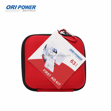 OP FDA CE ISO approved eva boxes red cross first aid medical kit bag