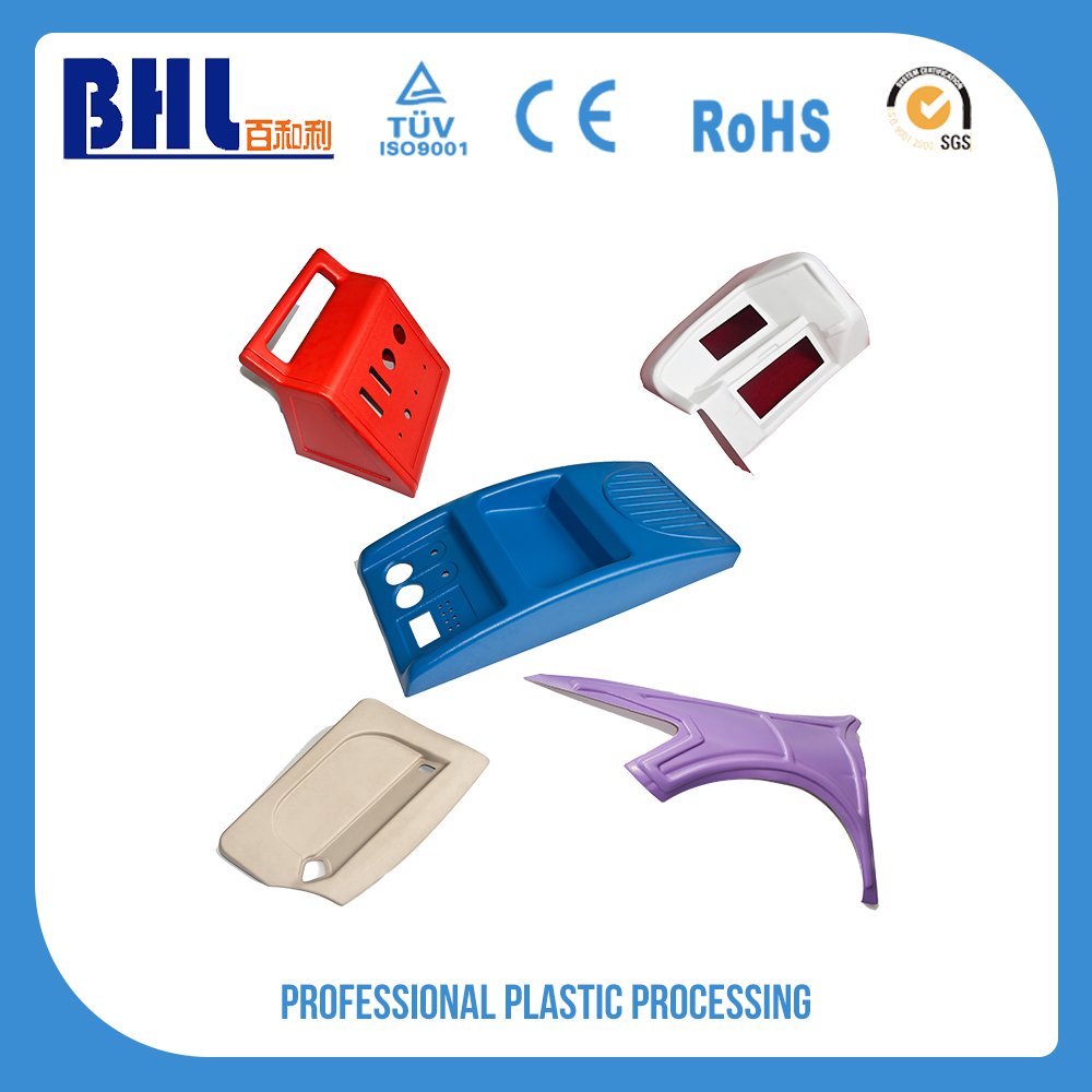 Top quality point of sale display stand plastic foot base printing