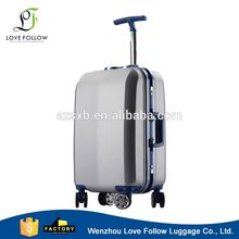 New products good quality abs trolley aluminum frame travel carry-on luggage