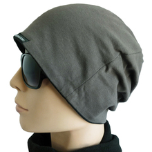 Jersey Slouchy Cotton Beanie Basic Skull Cap Hat