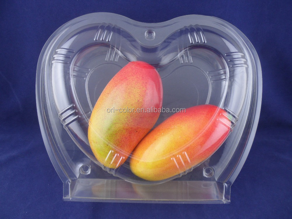 plastic fruit and vegetable packaging container