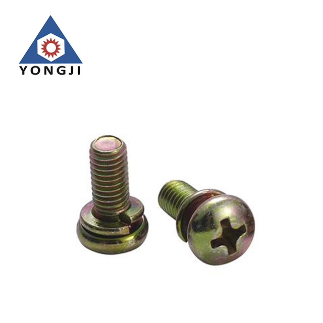 Hot Sale High Precision Custom Philips Pan Head Washer Screw