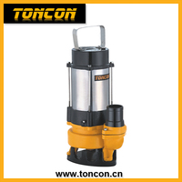 stainless steel non-clog 7.5hp cut sewage submersible pump