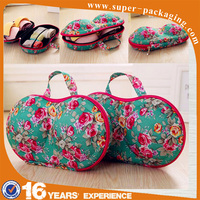 New costom packaging wholesale high quality portable travel eva bra case