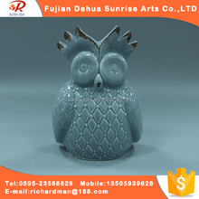 Famous clay owl sculptures for decoration statues